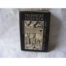 Technický slovník česko německý,německo český