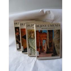 dejiny umenia svazek 1-4 slovensky