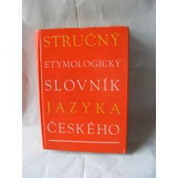 Stručný etymologický slovník jazyka českého