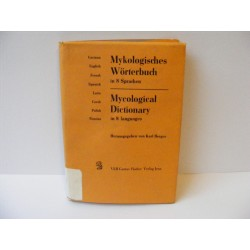 Mycological Dictionary in 8 languages