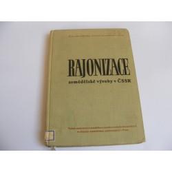 Rajonizace zemědělské výroby v ČSSR