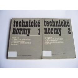 Technické normy 1+2