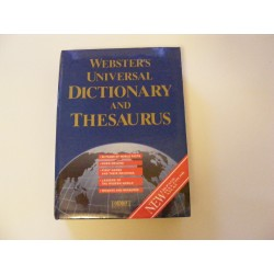 Webster's universal dictionary and thesaurus