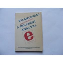 Bilancování a bilanční analýza