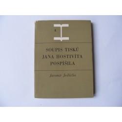 Soupis tisků Jana Hostivíta Pospíšila