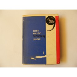 česko - anglický technický slovník