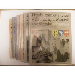 Hrady, zámky a tvrze v Čechách,  na Moravě a ve Slezsku I-VII