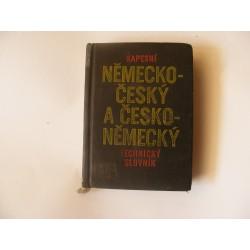 Kapesní Německo-Český a Česko-Německý technický slovník
