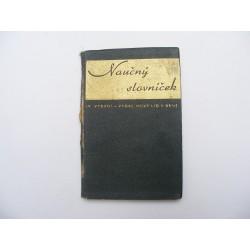 naučný slovník