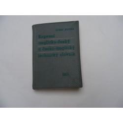 Kapesní anglicko český a česko anglický technický slovník
