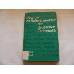 Übungen zu Schwerpunkten der deutschen Grammatik