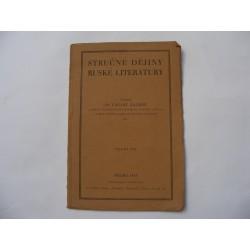 Stručné dějiny ruské literatury
