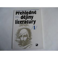 Přehledné dějiny literatury 1