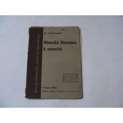 Německá literatura k maturitě