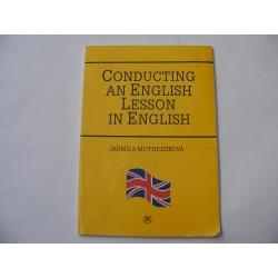 Conducting an english lesson in english