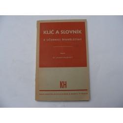 klíč a slovník k učebnici španělštiny