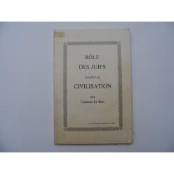 Role des juifs dans la civilisation
