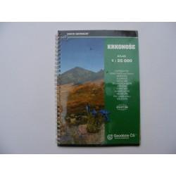 Krkonoše atlas 1:25000