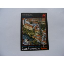 Český Krumlov - panoramatická mapa