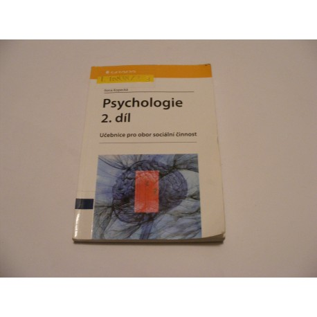 Psychologie 2.díl