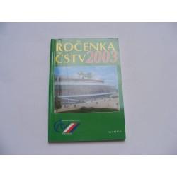 Ročenka ČSTV 2003