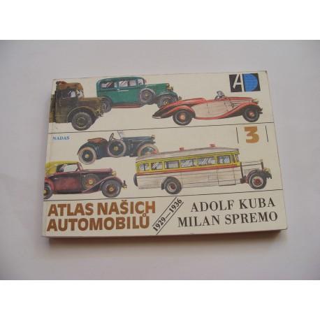 Atlas našich automobilů 1929 - 1936