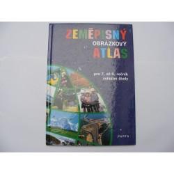 Zeměpisný obrázkový atlas pro 7. až 9. ročník zvláštní školy