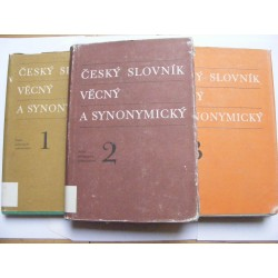 Český slovník věcný a synonymický 1+2+3