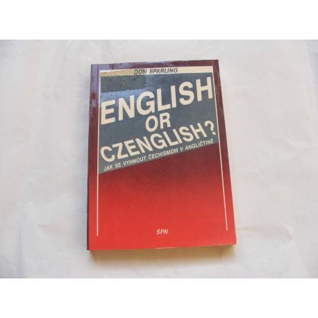 English or czenglish?