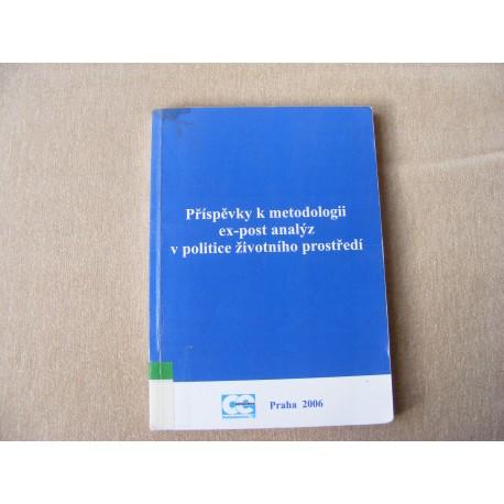 Příspěvky k metodologii ex-post analýz v politice životního prostředí