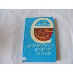 Mezinárodně politický slovník