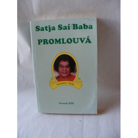 Satja Sai Baba promlouvá